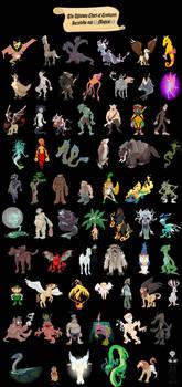 Beastiary Enormous-ica by WonderDookie