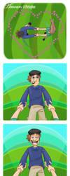 Valentine's Comic by WonderDookie