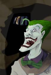 The Joker by WonderDookie