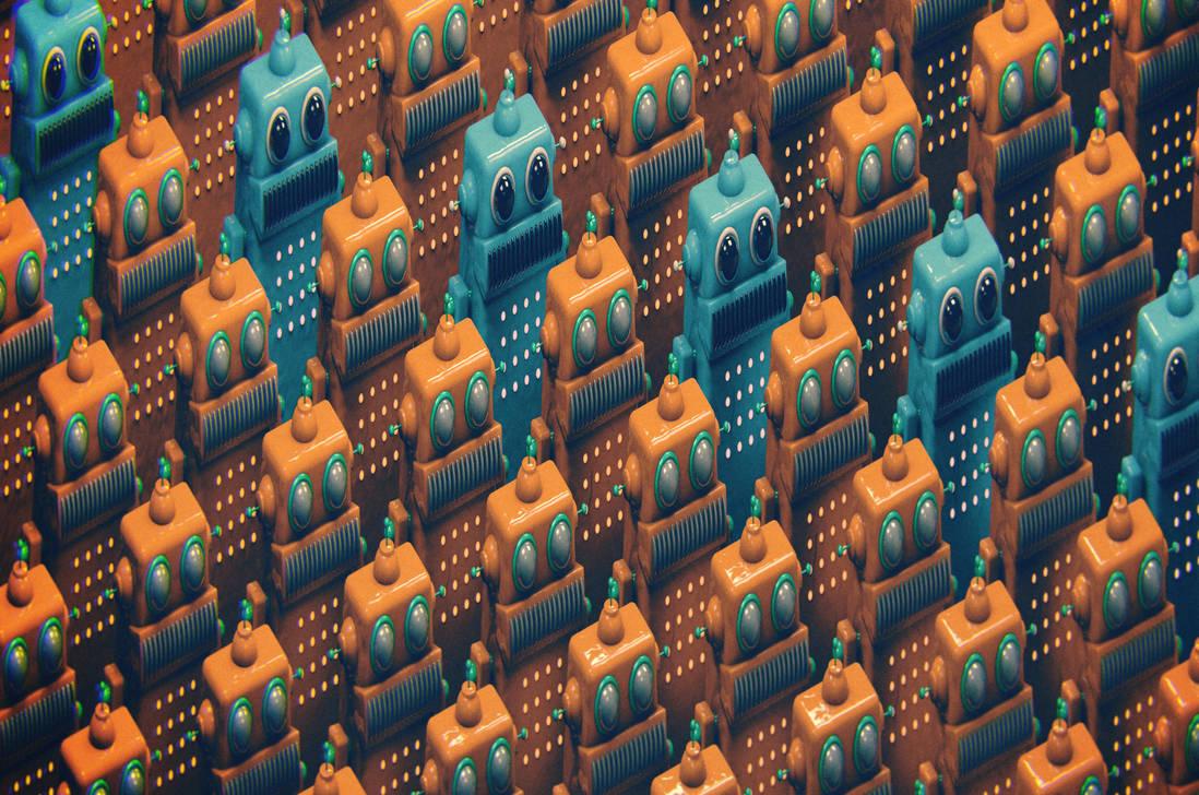 ROBOT ARMY 16 MEGAPIXELS by jodroboxes