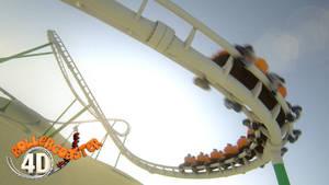 RollerCoaster 4D render by jodroboxes