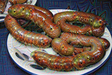 Deep Neural Sausage Dream by jodroboxes