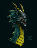 Sea Serpent Collab by ChristopherRobinArtz