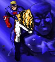 Fighting Patriot Collab by ChristopherRobinArtz