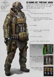 Pointman Armor by AlexJJessup