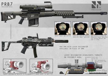 Recon Weapons by AlexJJessup