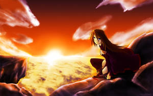 Sunset Wind by Winyumi