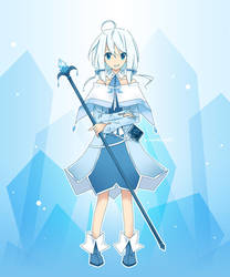 Celie's Icy Dress by Winyumi