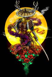 Poppy Samurai 03 by Licensetoink