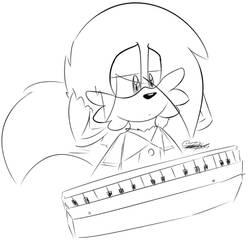 Piano by Jigglyking20