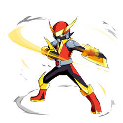 Megaman Battle Network Chrono X - Quick Memento by Chaos-Agito