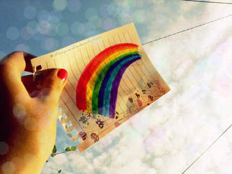 Over the Rainbow by AndreeaArsene