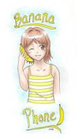 Banana Phone 8D by Kirillee