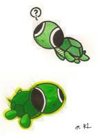 Moar Doorknob Turtles by Kirillee
