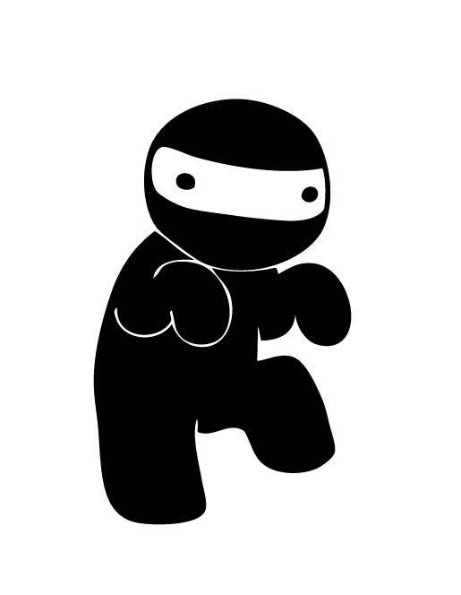 The Sneaky Ninja by Kirillee