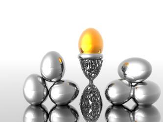 Golden Egg by angellstar