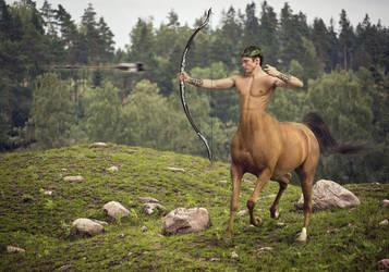 Centaur by Elenaivin