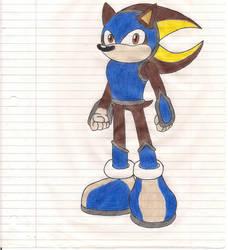 Request #2: Krockomodo(2): Arrazatash The Hedgehog by Morpheus-the-dog