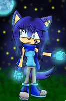 Luna The Wolf (New character) by Morpheus-the-dog