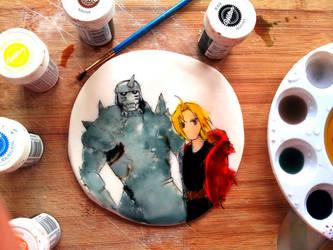 Fullmetal Alchemist food coloring! by worldofyarn