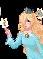 Rosalina and luma by LilPossumBoi