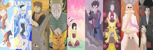 Gym Leaders by Embly-Bo-Bembly
