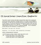 CSS Journal Contest Entry by fallen-sagittarian