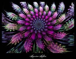 Ocean Flower III by AmorinaAshton