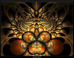 Autumn in Gold III by AmorinaAshton