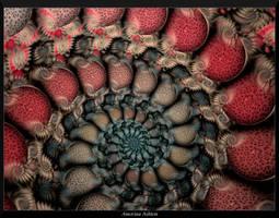Crackled Spiral3 by AmorinaAshton