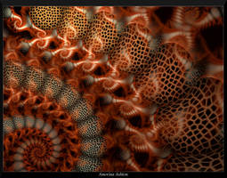 Crackled Spiral 4 by AmorinaAshton