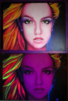 Britney Spears Glow Portrait by greendesire
