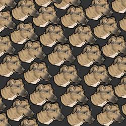 Pet / DOG surface design pattern tribute by Renben