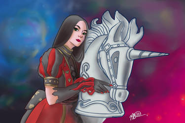 Alice Madness returns by Renben