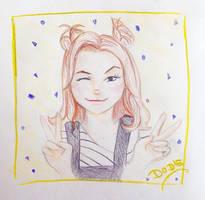 Dodie Clark by GabriellaPArt