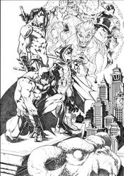 Batman - The Evil Moon - Commission3 by darnof