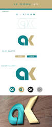 A.K. Personal logo by shady06