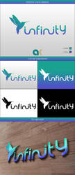 Infinity logo design by shady06