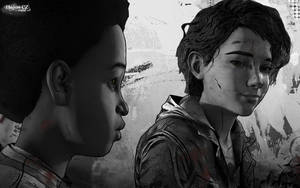 Clem and AJ - Between us by HajusCZ