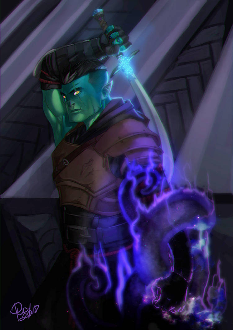 Critical Role (C2) - Fjord by pulyx