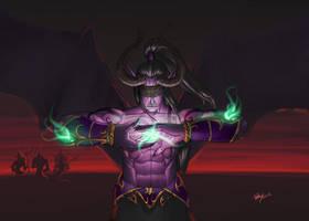 Illidan, The Betrayer by pulyx