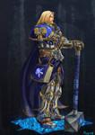 Prince Arthas Menethil by pulyx