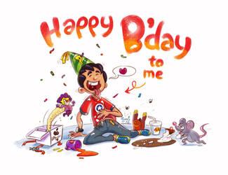 Happy Birthday to Me by PankajPandey4D
