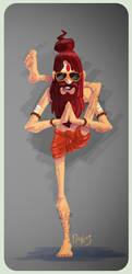 Celebrating International Yoga Day by PankajPandey4D