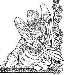 Angelic Repose by shortissimus