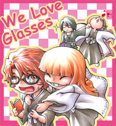 We love glasses by sazienas