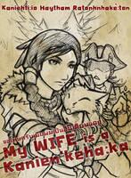 Rough : My wife is a Kanienkehaka by sazienas