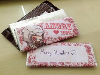 Happy Valentine day by sazienas