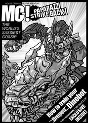How to train your Dinobot by sazienas