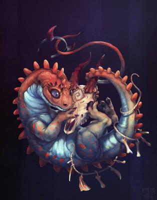 Lizard by deathnear
